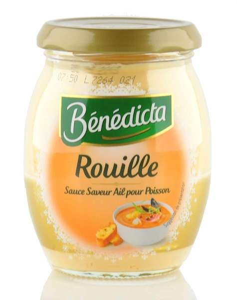 """Benedicta Sauce """"Rouille"""" im 260g Glas"""