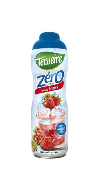 Teisseire Zero Sirup Erdbeere zuckerfrei 600ml