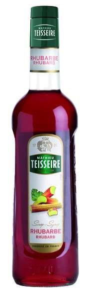 Bar Sirup Rhabarber - Teisseire Special Barman - 700ml
