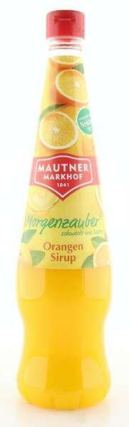 Mautner Markhof Morgenzauber Sirup Orange