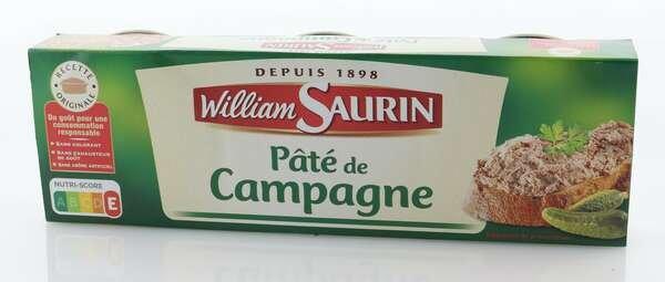 William Saurin Pâté de Campagne 234g