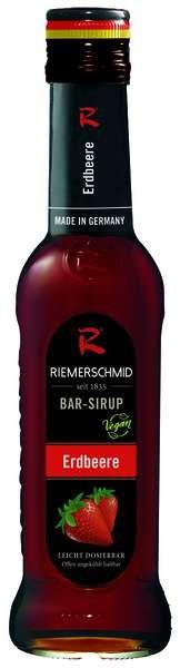 Riemerschmid Bar-Sirup Erdbeere 0,25L