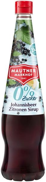 Mautner Markhof 0% Zucker Sirup Johannisbeere - Zitrone