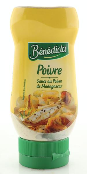 "Benedicta ""Poivre"" Pfeffer Sauce 235g Standtube"