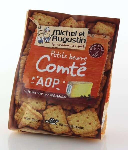 Michel et Augustin Aperitif-Kekse mit Comté Käse 100g