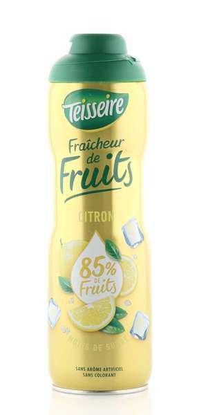 Teisseire Sirup mehr Frucht - weniger Zucker Zitrone 600ml