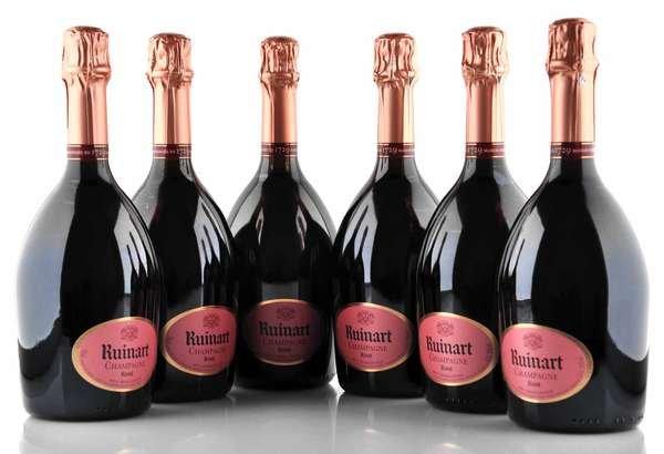 6 X Ruinart Champagner Rosé 0,75l
