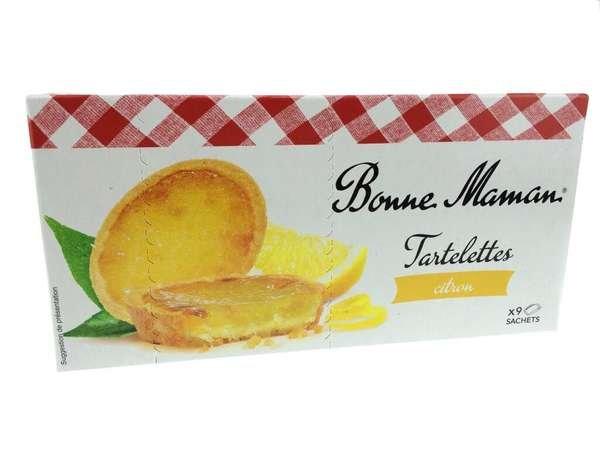 Bonne Maman Tartelettes Citron (kleine Törtchen mit Zitrone) 125g