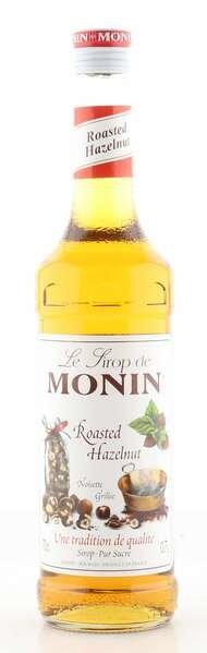 Monin Sirup geröstete Haselnuss 0,7L Flasche