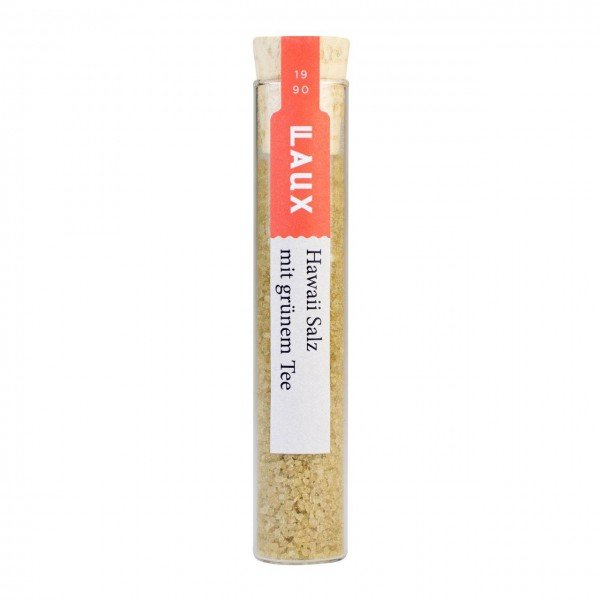 Laux Hawaii Salz - Meersalz mit grünem Tee 24 g Glas