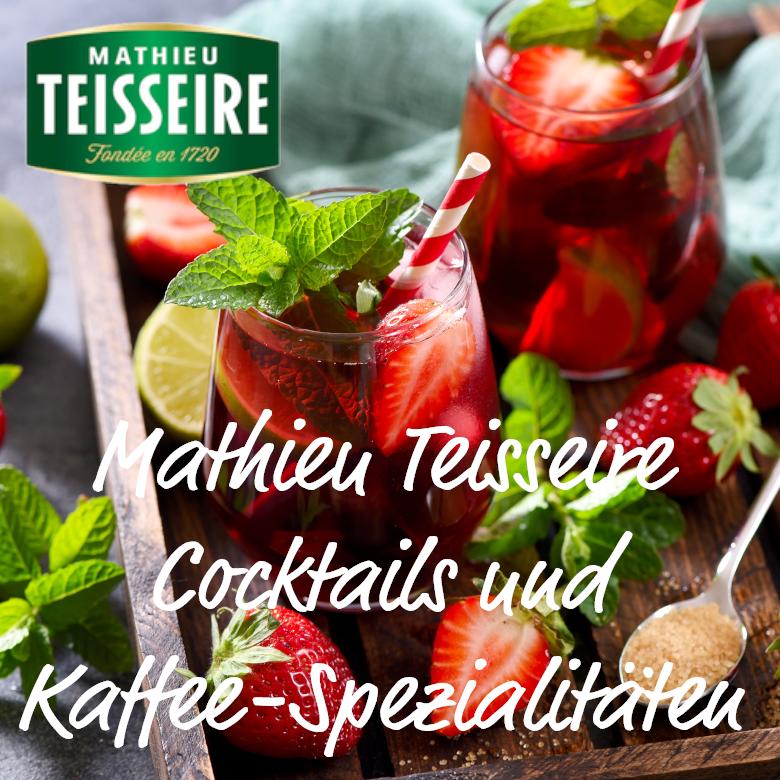 Mathieu Teisseire Cocktails und Kaffee-Spezialitäten