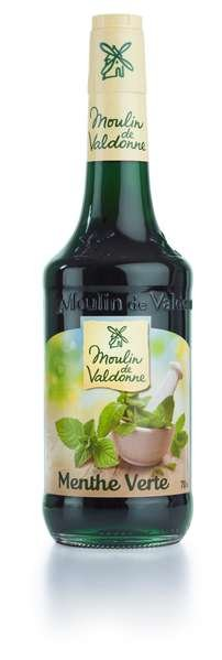 Moulin de Valdonne Sirup grüne Minze 700ml