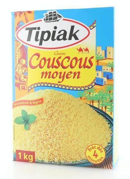 Tipiak Couscous Medium 1 kg