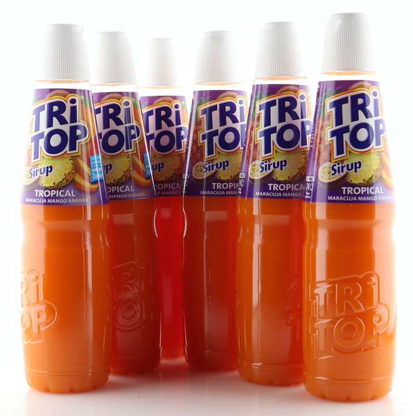 6 X TRi TOP Sirup Tropical 0,6L