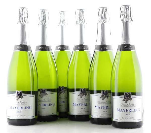 6 X Mayerling Cremant d'Alsace Mayerling Brut 0,75L