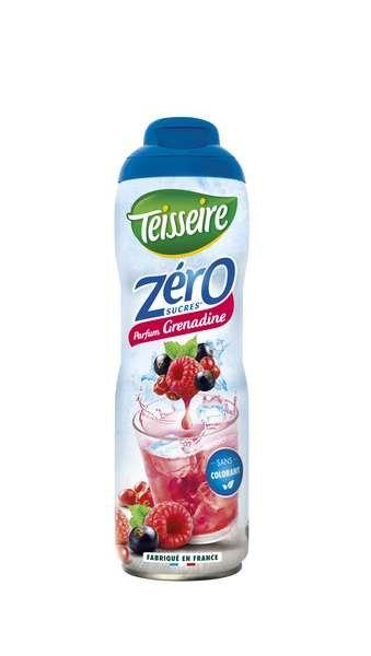 Teisseire Zero Sirup Grenadine zuckerfrei 600ml