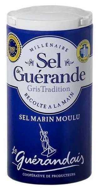 Les Salines de Guérande - Grobes Meersalz Marin Moulu 125g