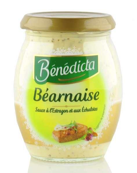 "Benedicta Sauce ""Bearnaise"" im 260g Glas"
