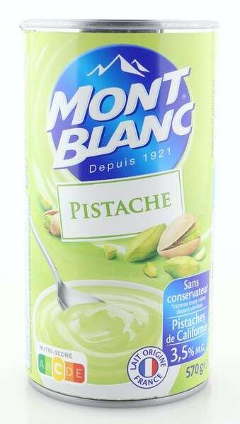 Mont Blanc Cremedessert mit Pistazie 570g