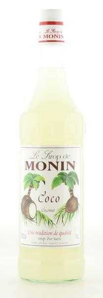 Monin Sirup Kokosnuss 1L Flasche