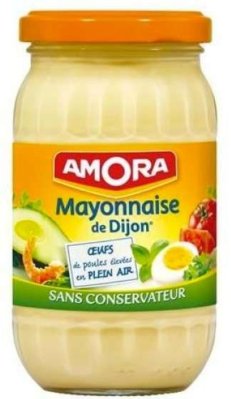 Amora Mayonnaise de Dijon 470g Glas aus Frankreich