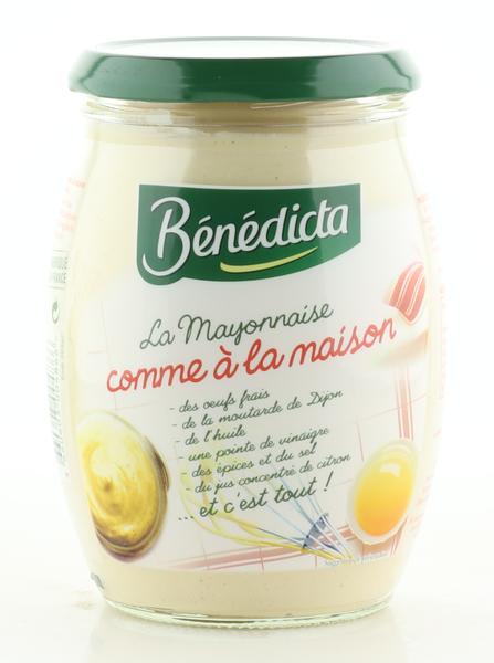 """Benedicta Mayonnaise """"comme a la Maison"""" im 500g Glas"""