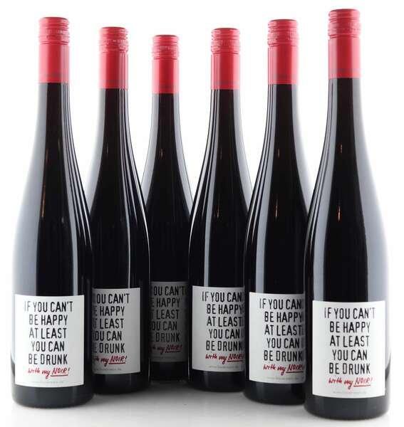 """6 X Emil Bauer Cuvée Noir """"can be drunk"""""""