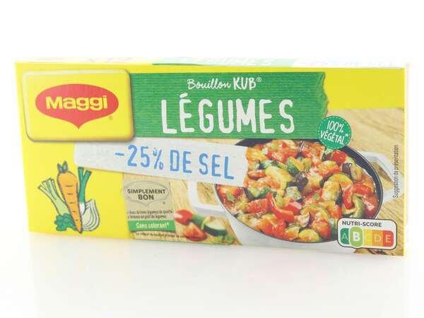 Maggi Gemüsebrühwürfel 25% salzreduziert