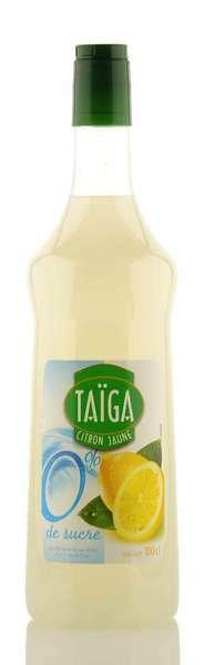 Teisseire Taiga 0% Sirup Zitrone mit Stevia zuckerfrei 1L
