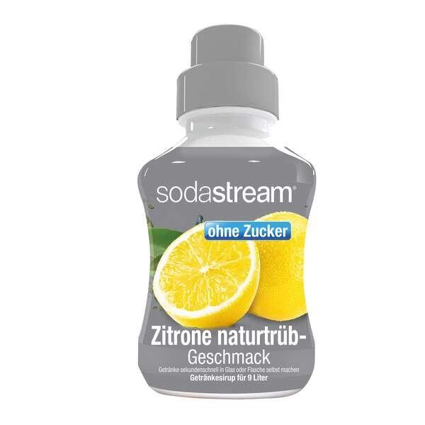 SodaStream Sirup Zitrone naturtrüb zuckerfrei 375ml