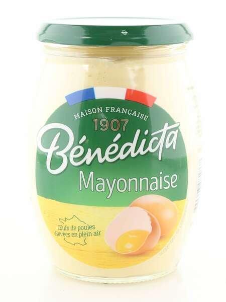 Benedicta Mayonnaise aus Frankreich im 510g Glas