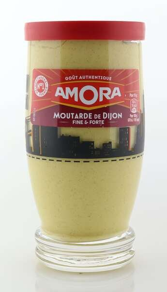 Amora Dijon Senf im 300g Dekorglas