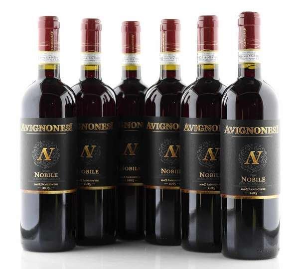 6 X Avignonesi Vino Nobile di Montepulciano - BIO