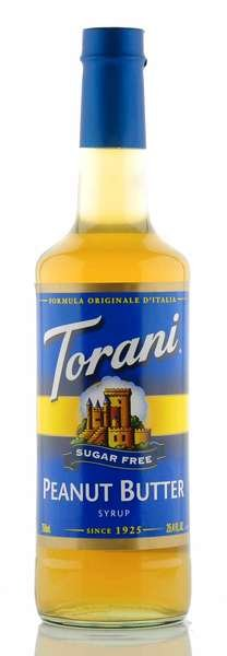 Torani Sirup Erdnussbutter zuckerfrei 750ml Flasche