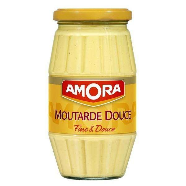 Amora süßer Senf im 435g Glas
