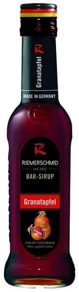 Riemerschmid Bar-Sirup Grenadine (Granatapfel) 0,25L