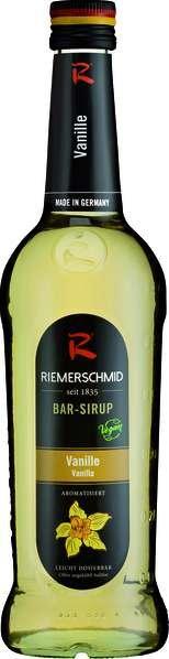 Riemerschmid Bar-Sirup Vanille 0,25L