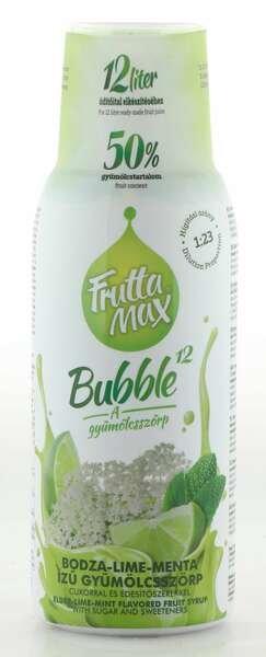 Frutta Max Bubble Holunderblüten- Limetten- & Minz Sirup