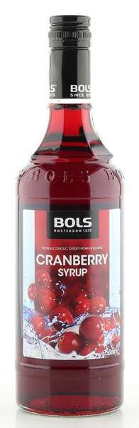 Bols Bar-Sirup Cranberry