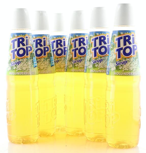 6 X TRi TOP Sirup Holunderblüte 0,6L