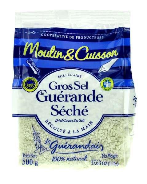 Les Salines de Guérande - Getrocknetes Meersalz für Mühlen 500g