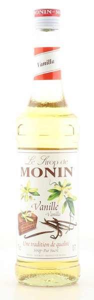Monin Sirup Vanille 0,7L Flasche