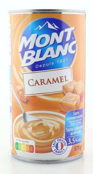 Mont Blanc Cremedessert Karamell 570g