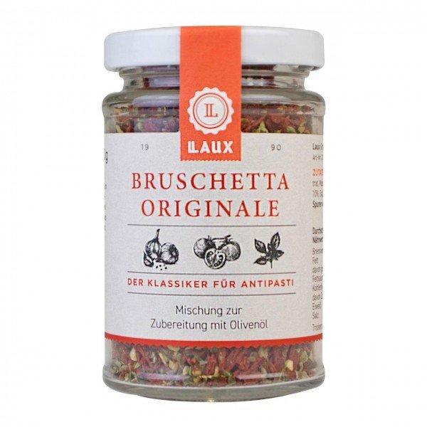 Laux Bruschetta Originiale - Klassiker für Antipasti 70 g Glas