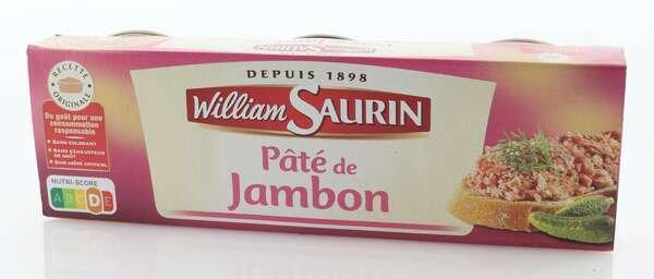 William Saurin Pâté de Jambon 229,5g