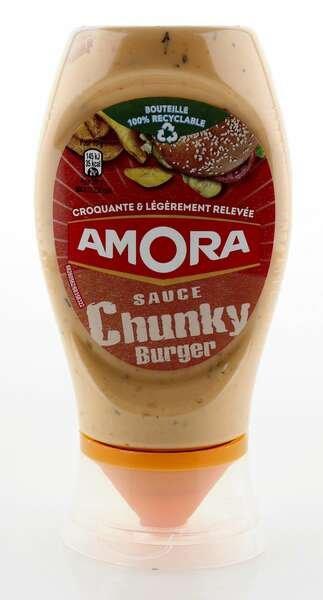 Amora Chunky Burger Sauce 258g Standtube