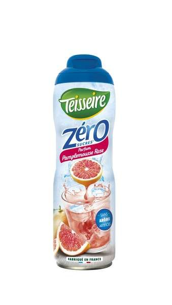 Teisseire Zero Sirup Pink Grapefruit zuckerfrei 600ml