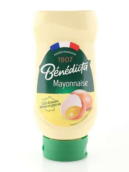 Benedicta Mayonnaise aus Frankreich 400g Standtube