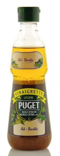 Puget Dressing mit Olivenöl, Knoblauch und Basilikum 330ml