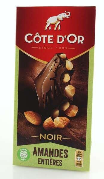 Cote d'Or Feinherbe Schokolade mit ganzen Mandeln